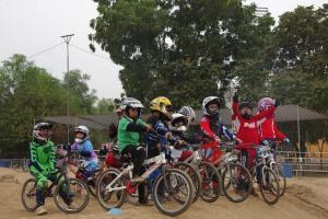 Kids on BMX
