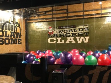 Worlds largest claw game