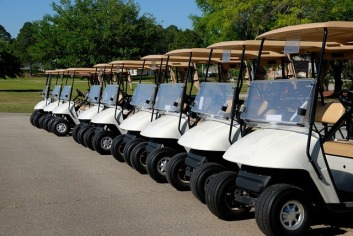 use T golf carts