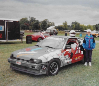 use W Simon w Dad racecar