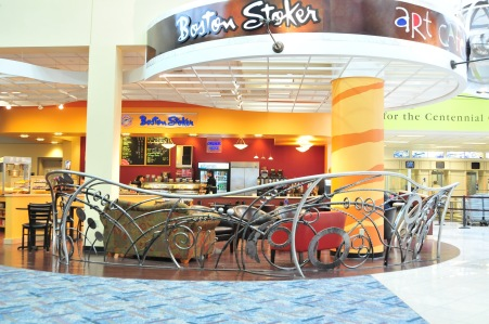 Railing, Dayton Airport Boston Stoker