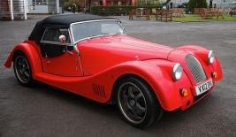 use Vintage Morgan car1 red