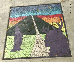 use sidewalk mosaic.a